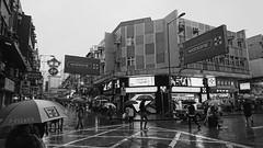 Raining in Sheung Shui (Dallas K. Sanders) Tags: blackandwhite monocrome northernhk hk hkig hkiger