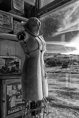 Store Mannequin (atenpo) Tags: bodie us 395 highway ghost town gold rush mining state historic park ca california arrested decay artifacts eastern sierra lee vining bridgeport foundation high desert auebodie2016 boone store mercantile general hardware