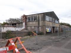 Part demolished factory (Phil_Parker) Tags: leamington spa building sydenham asbestos