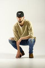 IMG_0932 (sabrinafvholder) Tags: man male hat hipster studio portrait young givenchy sabrinavazholder