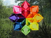 Rainbow Window Star