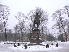 Kronshtadt, Russia (leonyaakov) Tags: travel winter white holiday snow cold ice monument finland germany stpetersburg cool belgium russia promenade citytour