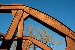 I Love You, Bridge (Andy Marfia) Tags: bridge blue winter sky chicago tree graffiti iso200 rivets steel branches iloveyou f8 lincolnpark 1800sec cortlandst d7100 1685mm cortlandstreetdrawbridge