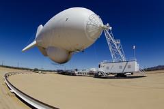 OAM Tethered Aerostat Radar System (TARS) Yuma, Arizona (CBP Photography) Tags: arizona surveillance system tethered radar yuma tars cbp oam aerostat
