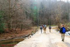 Duskin Creek Parking Area (mikerhicks) Tags: usa fall geotagged photography unitedstates hiking tennessee milo cumberlandtrail springcity tennesseestateparks pineyriver cumberlandtrailstatepark sigma18250mmf3563dcmacrooshsm canoneos7dmkii duskincreek geo:lat=3569046000 geo:lon=8494997667 lowerpineyriversection pineyriversegment