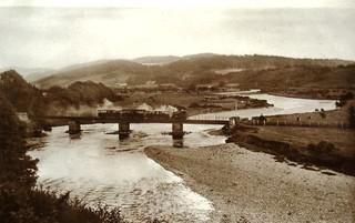 Corris Railway - Vintage postcard