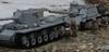 The March to Berlin (Tomcat Bobcat) Tags: world 2 two berlin germany soldier 1 war tank lego russia destroyer german ww2 su 100 russian heavy kv brickarms