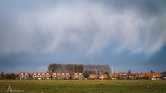 (Ansho.nl) Tags: sky holland netherlands dutch rain clouds nederland typical pure d600 typisch hardinxveld rijtjeshuis bijlmakers rijtjeshuizen giessendam ansho anshonl