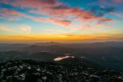 February 26th 2015 (d.martinez_21) Tags: california pink blue sunset orange lake mountains west beautiful clouds coast nikon san skies mt diego hills 1855mm poway woodson d3300