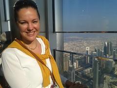 Burj Khalifa - 124. emelet (sandorson) Tags: travel dubai uae unitedarabemirates  duba   dubaj    sandorson dubi egyesltarabemrsgek