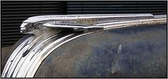 Hood Ornament (NoJuan) Tags: rusty pontiac hoodornament pontiacsilverstreak explored autodetails micro43 microfourthirds olympusep5 1232mmpanasonic vintageautodetails