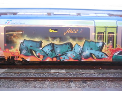 DSCN1951 (en-ri) Tags: verde train writing torino graffiti tots 2014 reser
