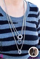 5th Avenue Silver Necklace K1 P2210-3