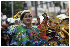 Sinulog 2015 (Rhannel Alaba) Tags: city nikon dancing celebration sto cebu nino sr viva stree sinulog celebrates 2015 d90 pido alaba rhannel