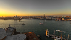 The sky over Venice (Fil.ippo) Tags: venice sunset panorama nikon tramonto cityscape belltower campanile laguna venezia filippo sangiorgiomaggiore giudecca sigma1020 d7000 filippobianchi