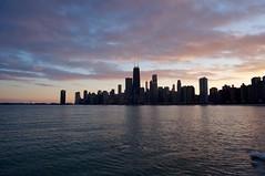 IMG_0706.JPG ((Jessica)) Tags: winter sunset lake chicago ice lakemichigan lakeshore lakefront northavenuebeach
