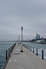 Lighting (ancientlives) Tags: winter usa chicago landscape illinois fuji january lakemichigan lakeshore yachts yachtclub chicagoyachtclub 2015 23mm lakefronttrail fujix100s