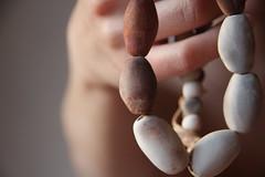 IMG_5863_1 (Anastssia) Tags: art necklace rust ceramics artist natural handmade kunst gray tribal earthy statement bead organic elegant neutral handgemacht pitfiring fetam