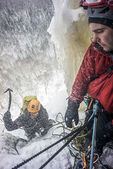 (Pekdeche) Tags: ice hiver climbing qubec mauricie glace escalade opale topaze