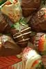 chocolate covered  strawberries (2) (elephants and the coconut trees) Tags: chocolate chocolatedipped chocolatecoveredstrawberry valentinesdayeasydessert easychocolaterecipe
