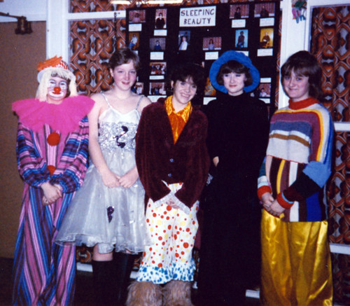 1987 Sleeping Beauty 16 (from left Julie Waterman, Julie Platts, Lisa Young, Louise Eyre, Rachel Hancock)
