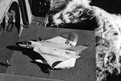 VF-141 F4D-1 Skyray BuNo 134866, NK-203 (skyhawkpc) Tags: airplane aircraft aviation navy douglas naval usnavy usn 1959 skyray ussranger 134866 f4d1 145072 nk203 vf141ironangels