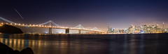 San Francisco-Oakland Bridge Skyline (ruifo) Tags: nikkor mf 50mm f12 ais san francisco california night treasure island nikon d810 nikond810 etatsunis usa eua eeuu сша 미국 statiuniti 美国 الولاياتالمتحدةالأمريكية アメリカ合衆国 ארהב미국estados unidos
