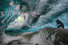 Magical Ice cave (Tim Vollmer Photography) Tags: blue ice iceland photographer glacier magical icecave