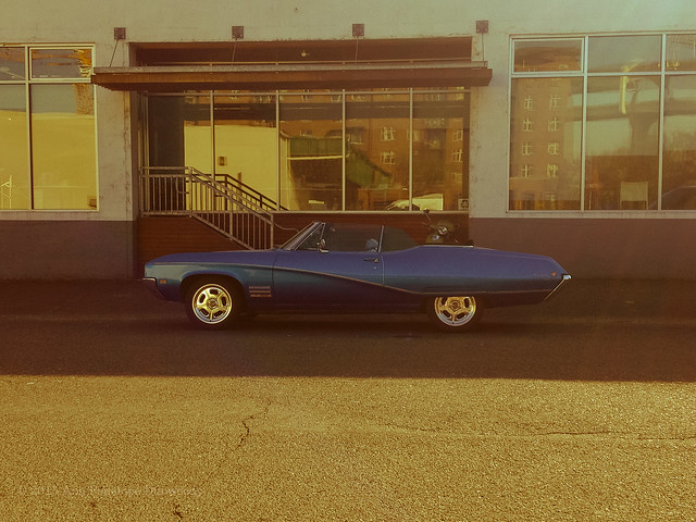 blue classiccar 1968buickskylark