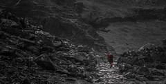 A 'splash of' on a otherwise grey day (JJFET) Tags: lake castle district slate crag borrowdale