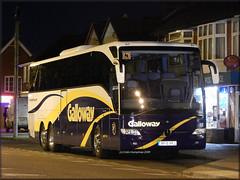 Galloway (BF15 XPJ) (Colin H,) Tags: new bus buses mercedes benz suffolk coach european 15 mercedesbenz plates brand coaches ipswich galloway merc tourismo livery 2015 ibp mendlesham triaxle coachlines bf15 ipswichbuspage xpj colinhumphrey bf15xpj
