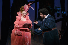 Kaitlyn Davidson and David Andino in Rodgers + Hammerstein's Cinderella presented by Broadway Sacramento at the Sacramento Community Center Theater May 12 – 17, 2015. Photo by Carol Rosegg.