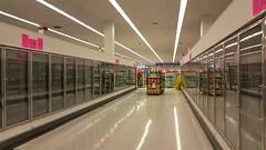 Empty Frozen Foods Department (Nicholas Eckhart) Tags: usa retail mi america us michigan detroit stores kmart roseville downsizing 2015 supercenter converting discountstore superkmart