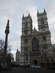 Westminster Abbey (Worthing Wanderer) Tags: christmas winter london westminster december sunny yearofthebus
