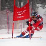 Riley Seger 1st at U18 Canadian Championships Super-G PHOTO CREDIT: Derek Trussler