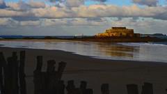 le jour se lve,  saint-malo (ericb29) Tags: sea mer architecture brittany bretagne breizh reflets saintmalo patrimoine bzh illeetvilaine nikond800