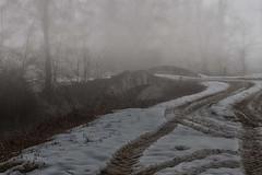 percorsi invernali (mat56.) Tags: street bridge winter snow cold misty fog landscapes strada milano tracks ponte campagna neve paths antonio nebbia inverno paesaggi lombardia freddo percorsi canale fosso pianura tracce padana sancolombanoallambro mat56 romei