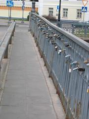 Bridge of Uzupis - Love Locks