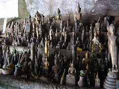 Buddha Statues Pak Ou Caves