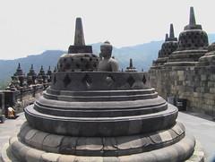 Buddha in his Stupa