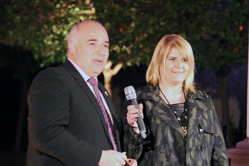 José Miguel Medina y Silvia Soria
