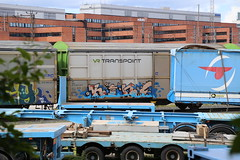 Cargos (Thomas_Chrome) Tags: street streetart art train suomi finland graffiti moving europe object can cargo spray illegal vandalism target nordic freight vr