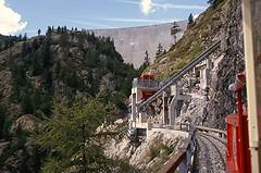Petit train de Chtelard / Finhaut Emosson (Bevadi) Tags: smalspoortrein petittrain schmalspur narrowgauge decauville stuwdam barrage funiculaire finhaut emosson