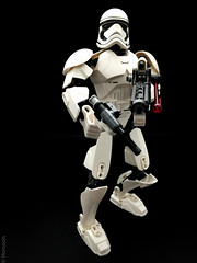 Stormtrooper (horsoon) Tags: starwars gun lego space stormtrooper tabletop