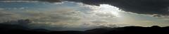 Tramonto (Alessio De Paulis) Tags: tramonto nuvole cielo panorama sky sunset lights clouds sun mountain nature stitcher samsung nx300 landscape