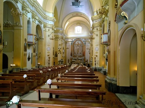 Interno chiesa di Sant'Antonio