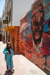 Essaouira streetart (PaulHoo) Tags: marocco city urban essaouira streetart streetphotography candid streetcandid life citylife woman women lady art color street streetportrait 2016