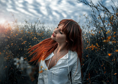 Ella III (Surabhi Gupta Photography) Tags: art girl beautiful fashion lady female angel outdoors model nikon natural fineart sigma naturallight australia ethereal expressive freckles emotive etheral freckle sigma35mm nikond610