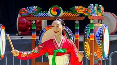 Korean Festival (Bill Anderson :-)) Tags: koreanfestival samulnorijanggudance vangardstadium burnaby britishcolumbia