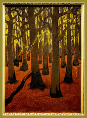 La fort au sol rouge / The forest with the red ground - Georges Lacombe - 1891 - Muse des Beaux-Arts de Quimper / Fine-Arts museum of Quimper (christian_lemale) Tags: france museum painting nikon brittany bretagne muse peinture painter georges kemper quimper finearts peintre lacombe beauxarts georgeslacombe d7100